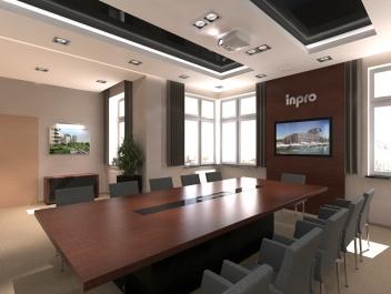 Sala konferencyjna i toalety - Inpro SA